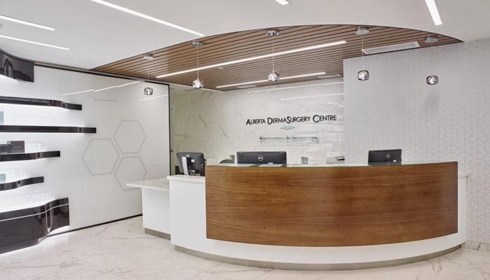 Alberta Dermasurgery Centre Rao Dermatology Reception